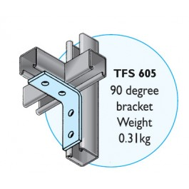 TFS 605 4 Hole Angle Bracket