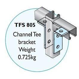 TFS 805 Channel Tee Bracket