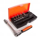 Bahco 25pc Socket Set 1/4'' Drive