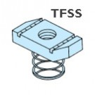 TFSS Short Spring Channel Nuts